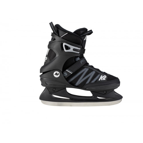 Прогулочные коньки K2 F.I.T. ICE серо-черные