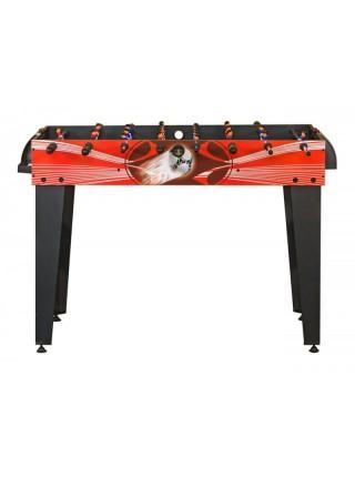 Настольный футбол (кикер) «Flex» (122x61x78.7 см, красный)