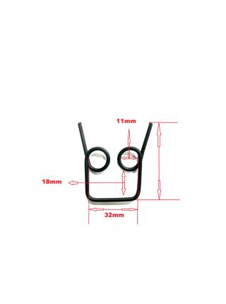 Пружина 3 для поворотно-наклонного механизма трехколесного самоката