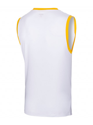 Майка баскетбольная Jögel JBT-1020-014, белый/желтый