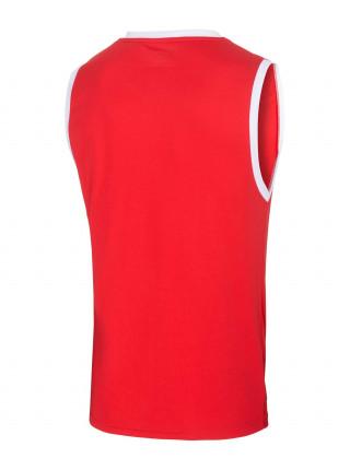 Майка баскетбольная Jögel JBT-1001-021, красный/белый