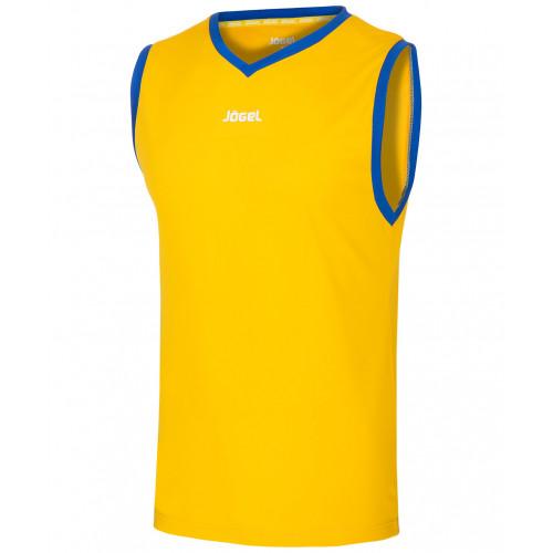 Майка баскетбольная Jögel JBT-1020-047, желтый/синий, детская