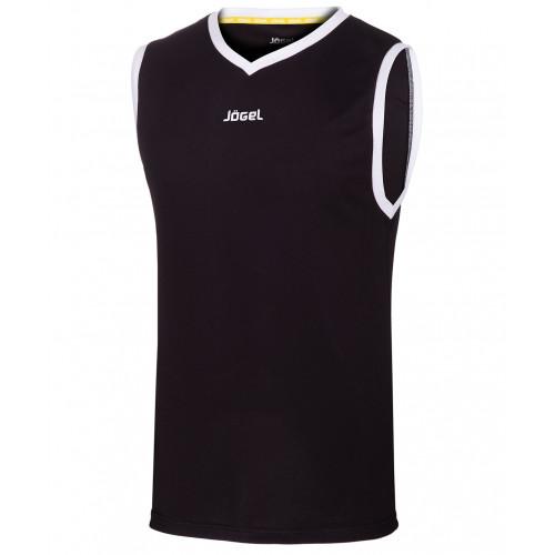 Майка баскетбольная Jögel JBT-1020-061, черный/белый, детская