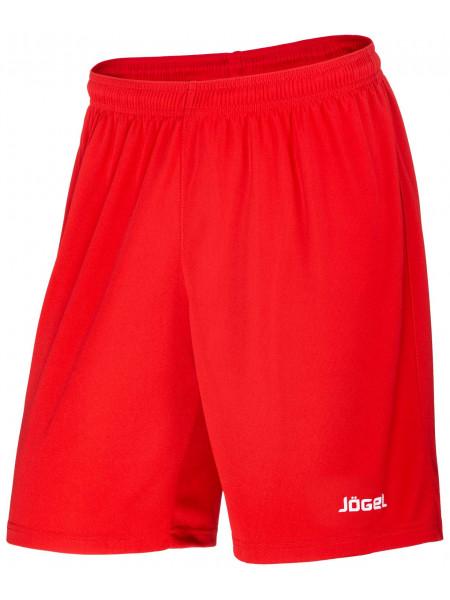 Шорты баскетбольные Jögel JBS-1120-021, красный/белый