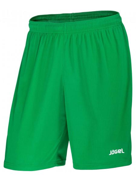 Шорты баскетбольные Jögel JBS-1120-031, зеленый/белый