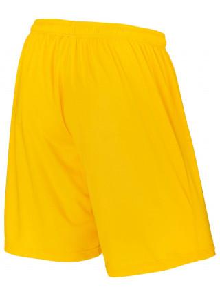 Шорты баскетбольные Jögel JBS-1120-041, желтый/белый