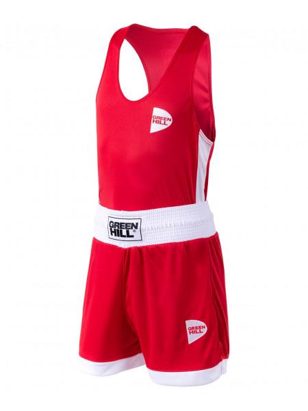 Форма боксерская Green Hill BSI-3805 Interlock, детская, красный