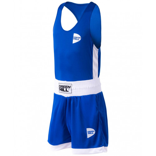 Форма боксерская Green Hill BSI-3805 Interlock, детская, синий