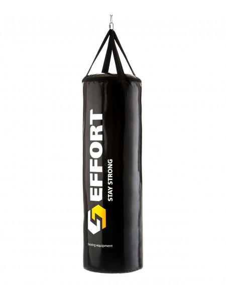 Мешок боксерский Effort E155, тент, 15 кг, черный