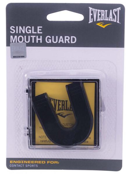 Капа Everlast Single 4405BE, 1-челюстная, черная, в коробке