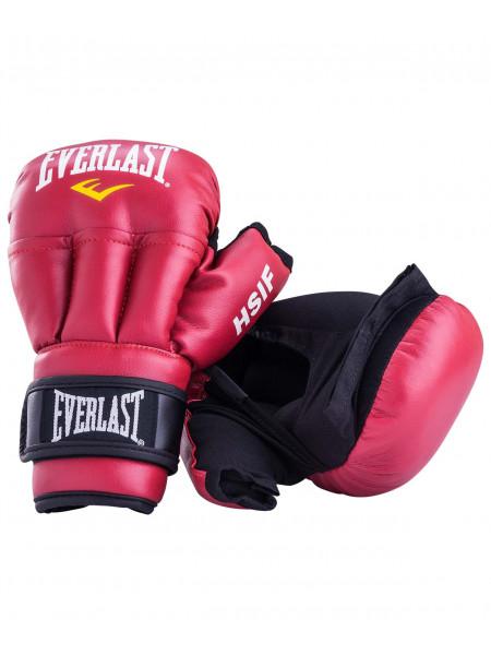 Перчатки для рукопашного боя Everlast HSIF к/з, красный