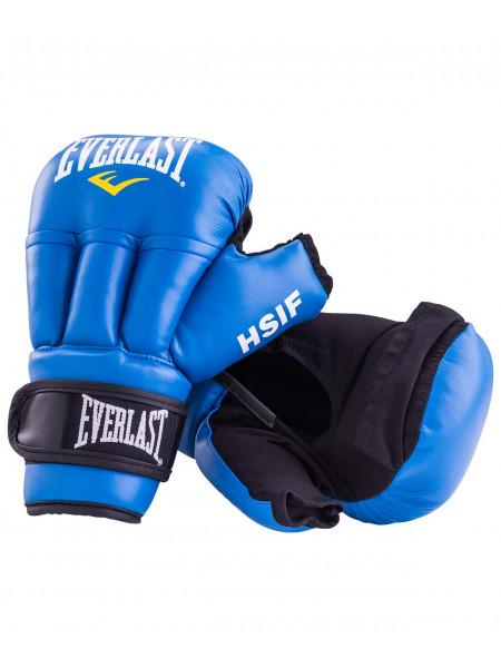 Перчатки для рукопашного боя Everlast HSIF к/з, синий