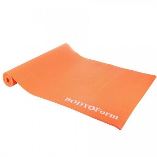 Коврик гимнастический BODY Form BF-YM04 183*61*1,0 см оранжевый