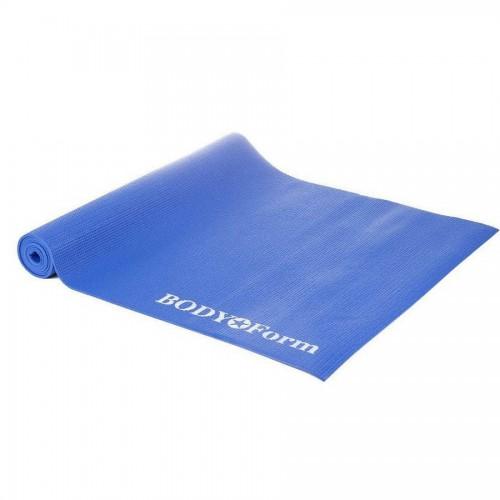 Коврик гимнастический BODY Form BF-YM04 183*61*1,0 см синий