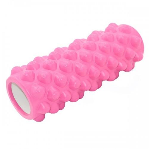 Ролик для йоги B33071 33х14см розовый
