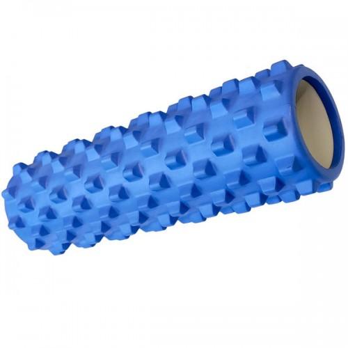 Ролик для йоги B33078 45х14см синий