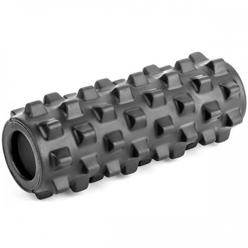 Ролик для йоги полнотелый B33092 33х12см черный