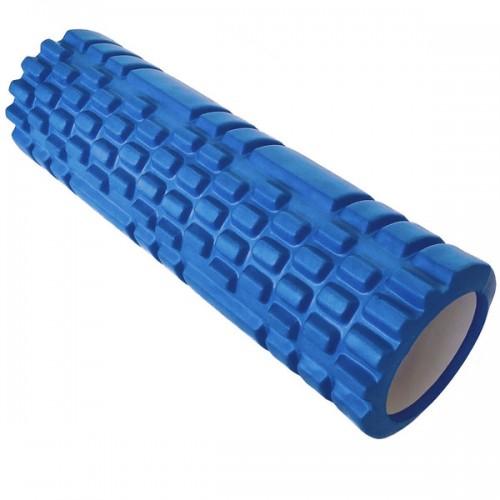 Ролик для йоги B33114 44х14см синий