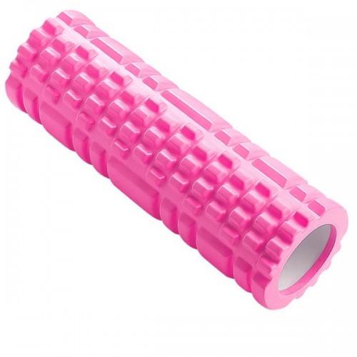 Ролик для йоги B33115 44х14см розовый