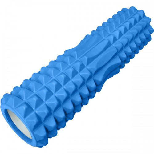 Ролик для йоги B33120 45х13см синий