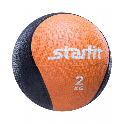 Медбол Starfit PRO GB-702, 2 кг, оранжевый