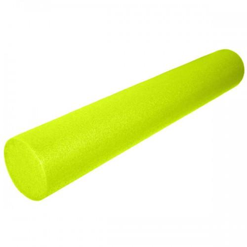 Ролик для йоги полнотелый 2-х цветный B31513 90х15см желтый