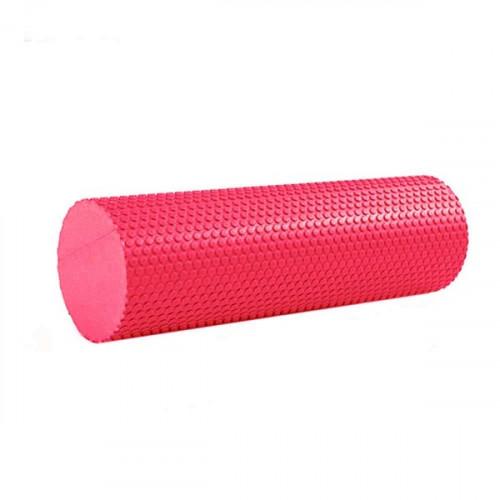 Ролик массажный для йоги B31601-3 45х15см красный