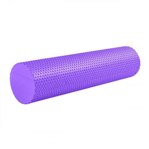 Ролик массажный для йоги B31602-7 60х15см фиолетовый