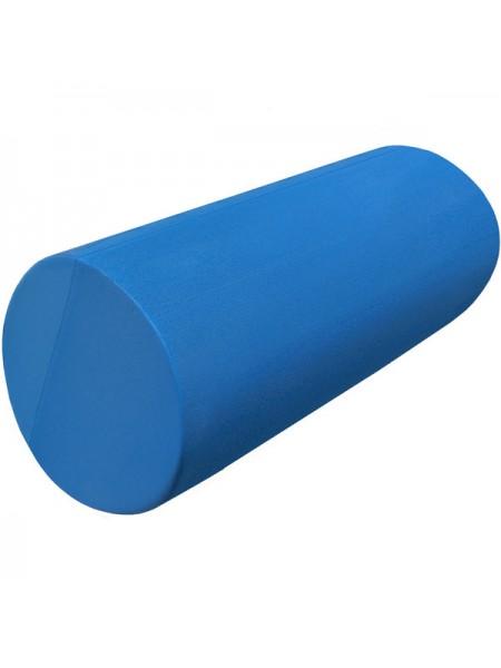 Ролик-цилиндр для пилатес гладкий B31610-1 30х15см синий