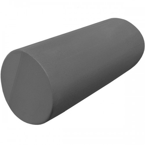 Ролик-цилиндр для пилатес гладкий B31610-9 30х15см серый