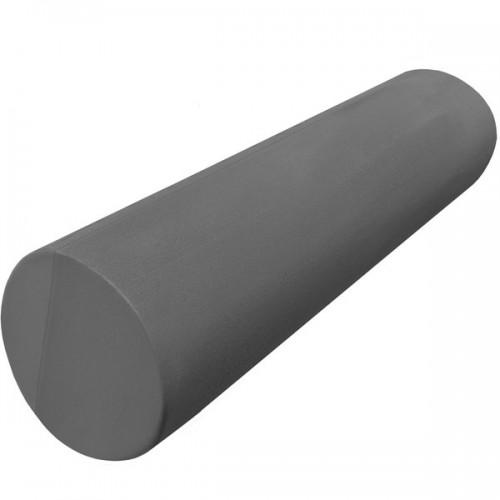 Ролик-цилиндр для пилатес гладкий B31611-9 45х15см серый