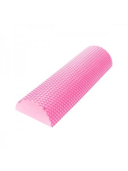 Ролик для йоги полукруг C28847-2 45x15х7,5 см розовый