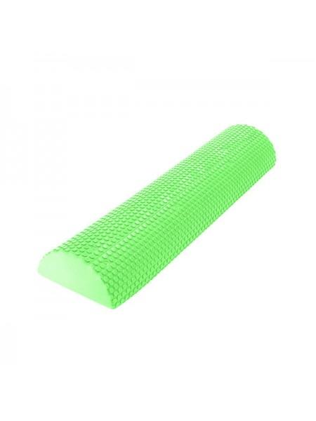 Ролик для йоги полукруг C28848-4  60x15х7,5 см зеленый