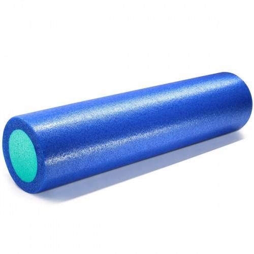 Ролик для йоги полнотелый 2-х цветный PEF100-61-A 61х15см сине-зеленый