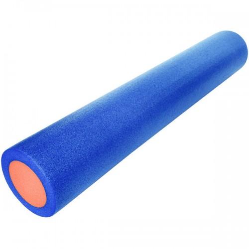 Ролик для йоги полнотелый 2-х цветный PEF100-91-B 91х15см синий/оранжевый