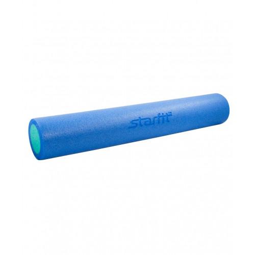 Ролик для йоги и пилатеса Starfit FA-502, 15х90 см, синий/голубой