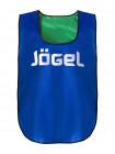 Манишка двухсторонняя Jögel JBIB-2001, взрослая, синий/зеленый
