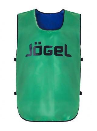Манишка двухсторонняя Jögel JBIB-2001 детская синий/зеленый
