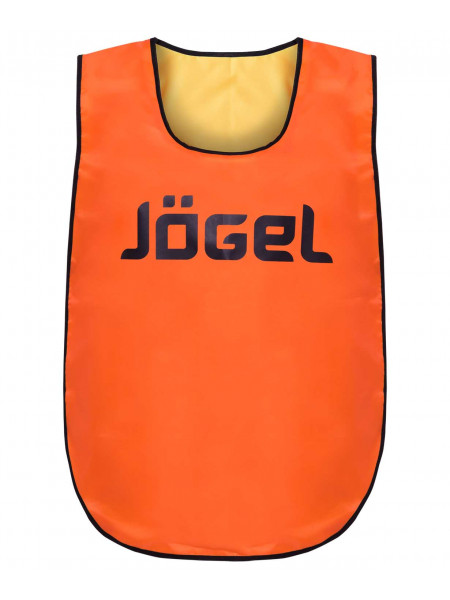 Манишка двухсторонняя Jögel JBIB-2001 детская желтый/оранжевый