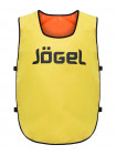 Манишка двухсторонняя Jögel JBIB-2001, взрослая, желтый/оранжевый