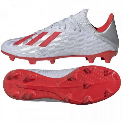 Бутсы футбольные Adidas X 19.3 FG, белый