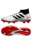 Бутсы футбольные Adidas Predator 19.3 FG, серебристый