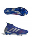 Бутсы футбольные Adidas Predator 19+ FG, синий