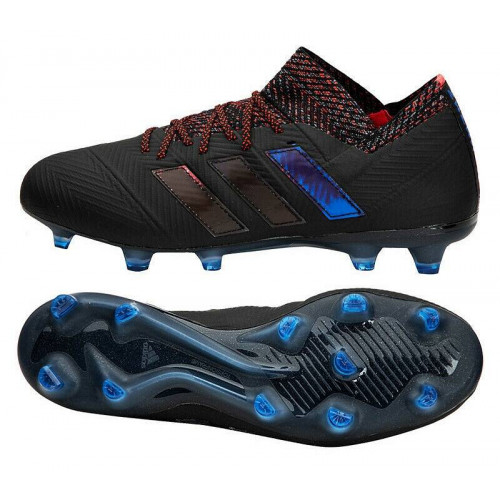 Бутсы футбольные Adidas Nemeziz 18.1 FG 2018, черный