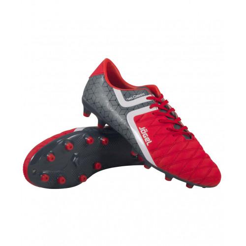 Бутсы футбольные Jögel Mondo JSH1002, красный