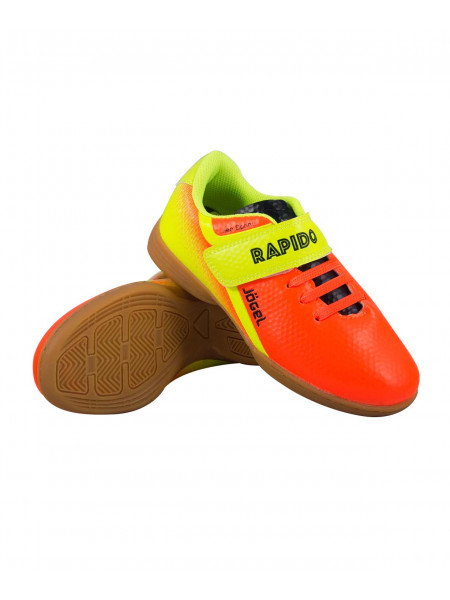 Бутсы зальные (футзалки) Jögel Rapido JSH4001-K, оранжевый
