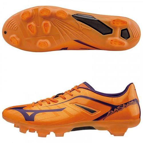 Бутсы футбольные Mizuno Basara 001 TC P1GA1560, оранжевый