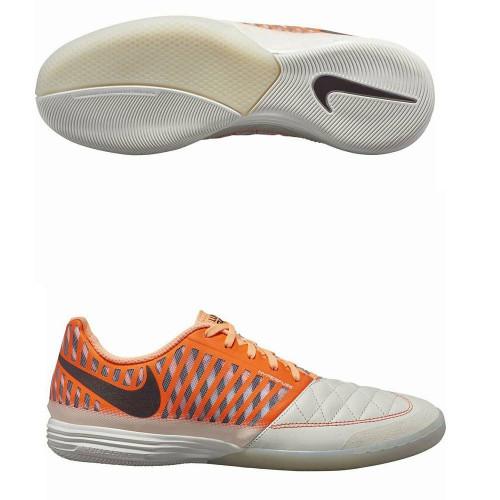 Бутсы футзальные Nike LunarGato II, оранжевый