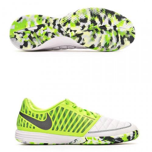 Бутсы футзальные Nike LunarGato II, зеленый