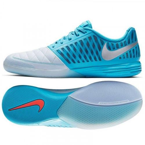 Бутсы футзальные Nike LunarGato II, голубой